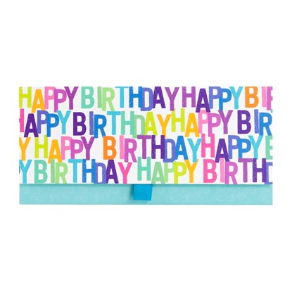 Dárková obálka 23x11cm Happy Birthday_0