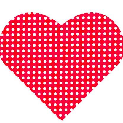 Papírové ubrousky ve tvaru srdce BAL/20ks_0