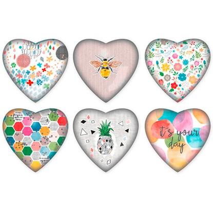 Těžítko Srdce 7,5x7,5x2 cm 6dr. cena za kus_0