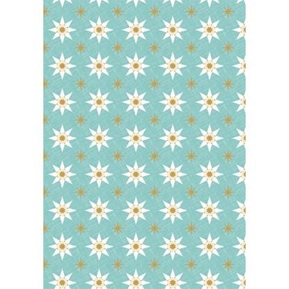 Balicí papír arch 70x100cm-Stdrne-blau_0