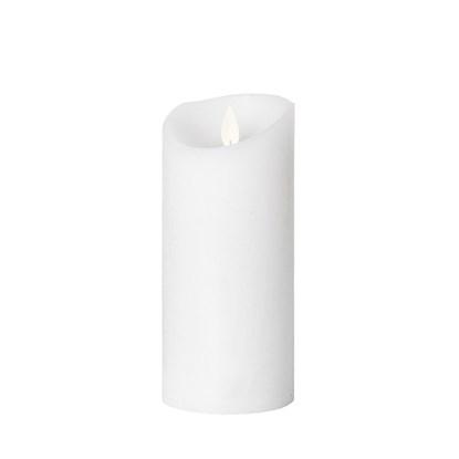 LED svíčka bílá 17cm_0