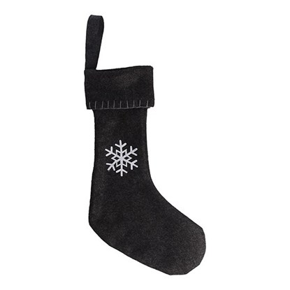 Christmas sock, with snowflakes, small,_0
