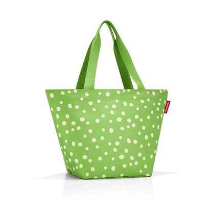 Nákupní taška SHOPPER M spots green_1