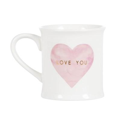 Hrnek Love You Pastel Pink Heart_0