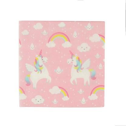 Papírový ubrousek Rainbow Unicorn BAL/20_1