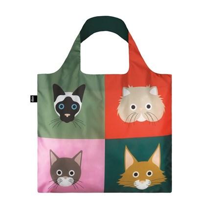 Taška LOQI STEPHEN CHEETHAM Cats_5