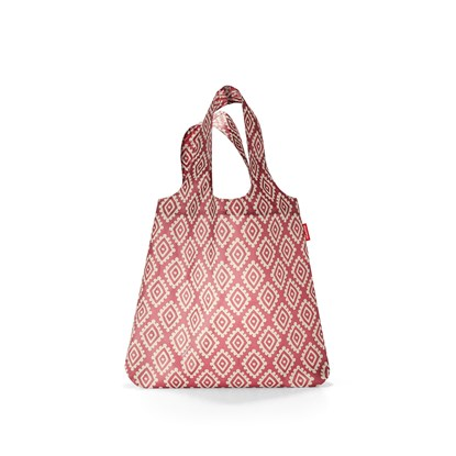 Skládací taška MINI MAXI SHOPPER diamonds rouge_1
