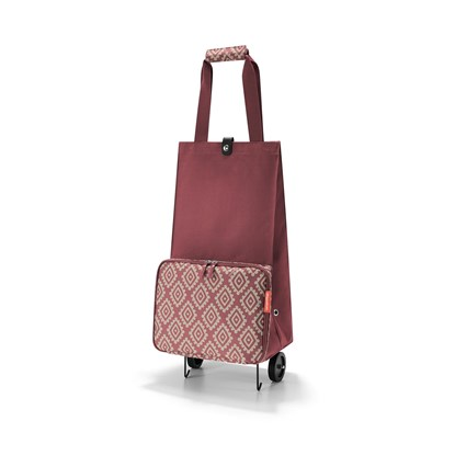 Taška na kolečkách FOLDABLETROLLEY diamonds rouge_1