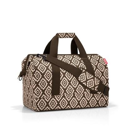 Cestovní taška ALLROUNDER L diamonds mocha_1