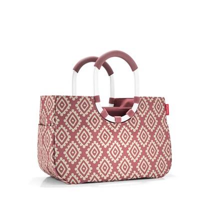 Nákupní taška LOOPSHOPPER M diamonds rouge_2