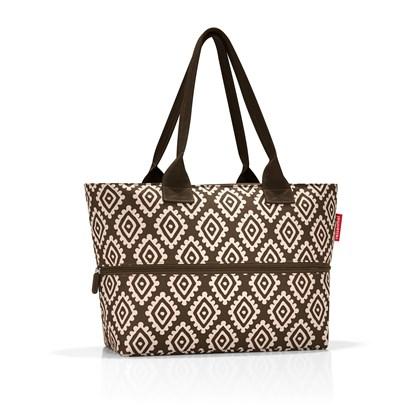 Nákupní taška SHOPPER e1 diamonds mocha_1