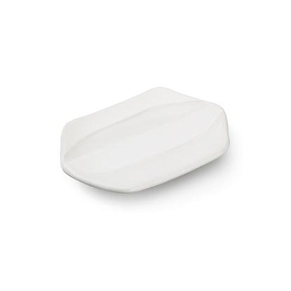 Miska na mýdlo RAYA 10x15x3 cm bílá_1