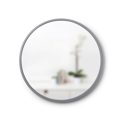 Zrcadlo HUB 61 cm šedé_4