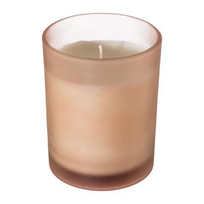 Glas Teelicht m.Wachs Mercury frosted LE_0