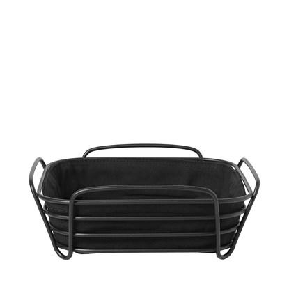 Ošatka na pečivo DELARA 25 cm černá_0
