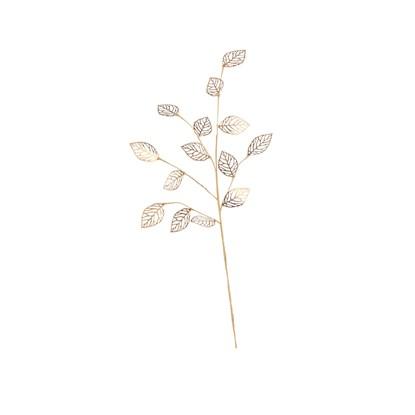 Dekorační větvička zlatá 65cm_0