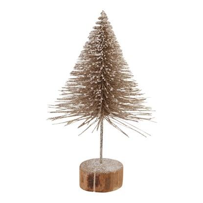 Dekorační strom 31 cm bronzový_0
