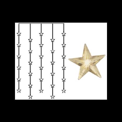 """Světelný závěs """"Star"""" 30x LED_0"""