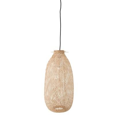 Stropní osvětlení 65 cm z bambusových vláken_3