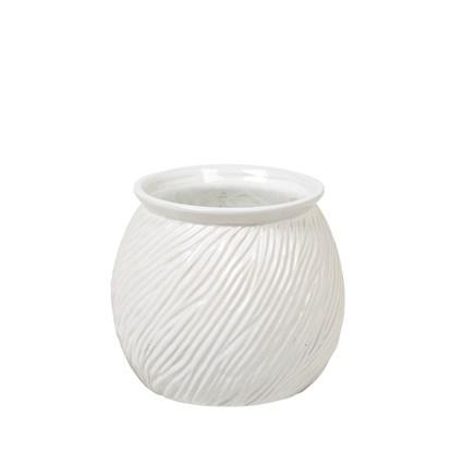 Kvetináč SANDY 16 cm bílý_0