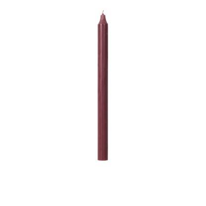 Svíčka kulatá dlouhá 2,1 cm starorůžov_0