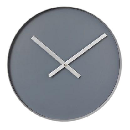 Nástěnné hodiny RIM velké šedé_0
