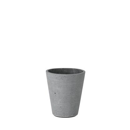 Květináč COLUNA 12,5 cm tmavošedý_0