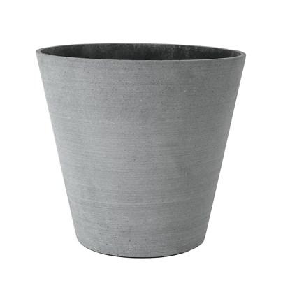 Květináč COLUNA 32 cm, tmavošedý_0