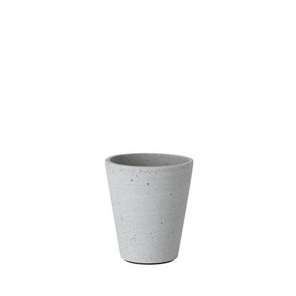 Květináč COLUNA 12,5 cm, světle šedý_0