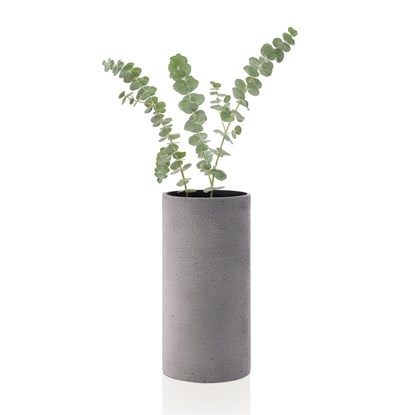 Váza COLUNA 24 cm tmavě šedá_1