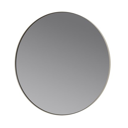 Kulaté závěsné zrcadlo RIM 80 cm šedé_0