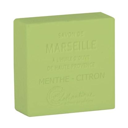 Marseillské mýdlo Minth-lemon 100 g_0