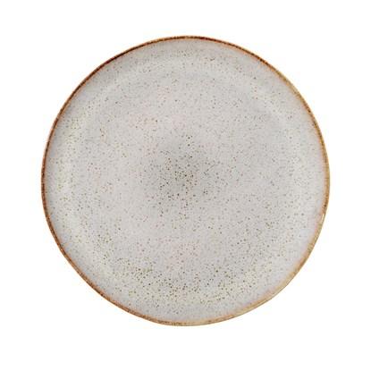 Kameninový talíř P.28.5 cm šedý_3