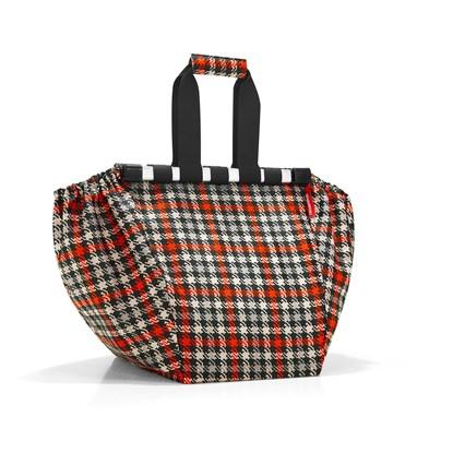 Nákupní taška do vozíku EASYSHOPPINGBAG glencheck red_1
