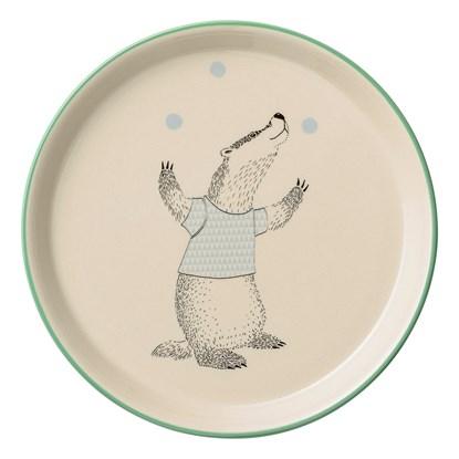 Dětský talíř s motivem vydry 20 cm_0