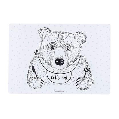 Plastové prostírání s motivem medvěda_0