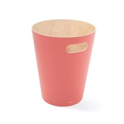 Odpadkový koš WOODROW 28 cm korálový_4