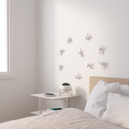 Dekorace na zeď HUMMINGBIRD SET/9ks_4