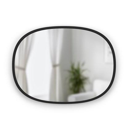 Zrcadlo HUB oválné 45x60 cm černé_2