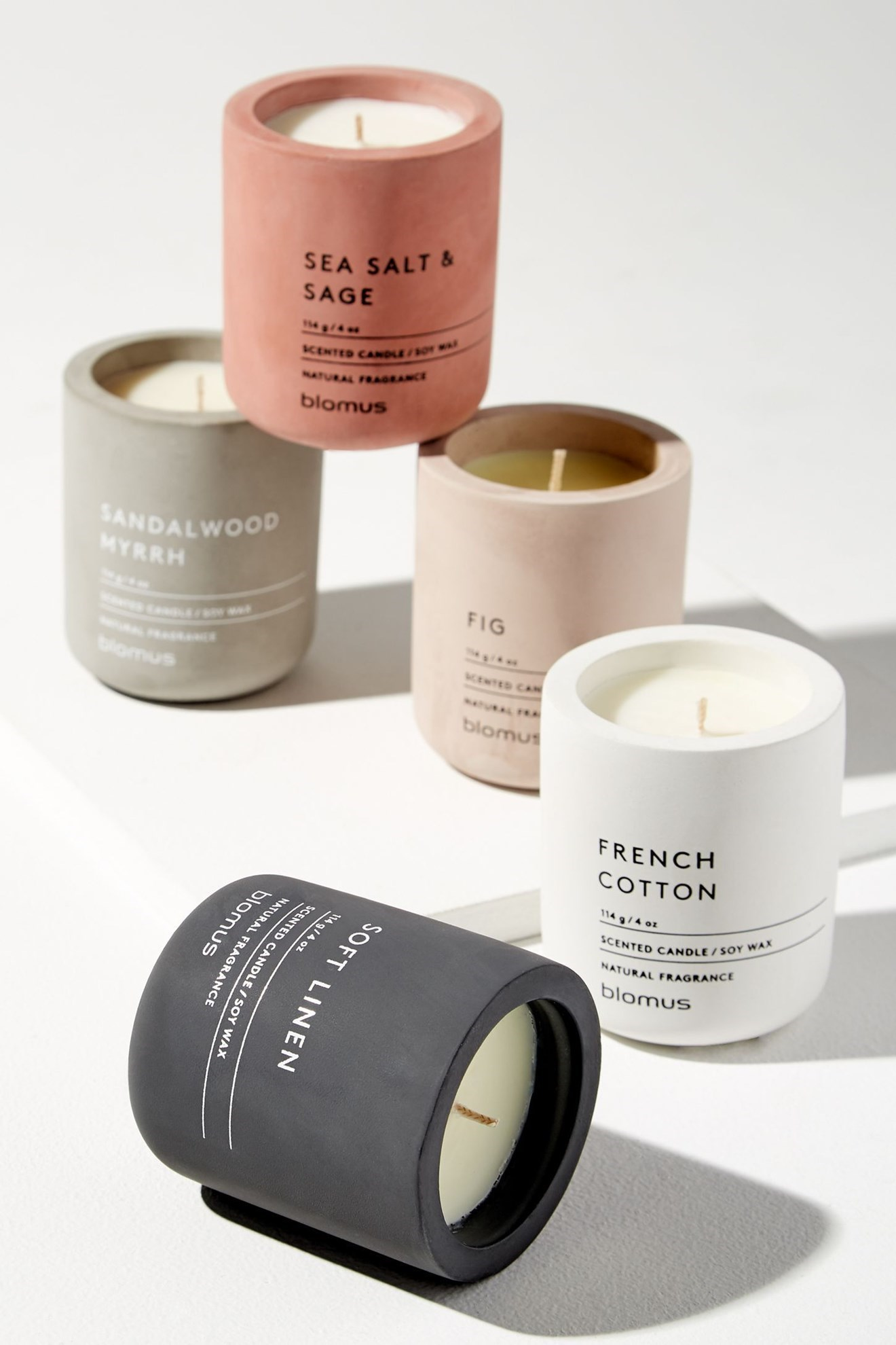 Obrázok z Vonná sviečka FRAGA S Soft linen