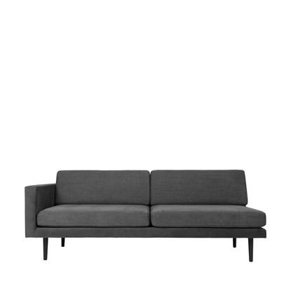 Sofa s pravou područkou OCEAN šedý_3
