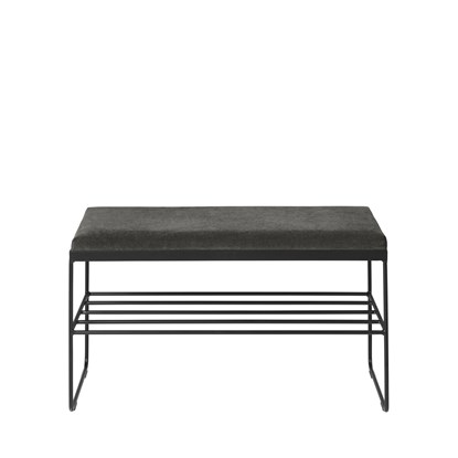 BENCH 'GORM' W SHELF  100% POLYESTER_3