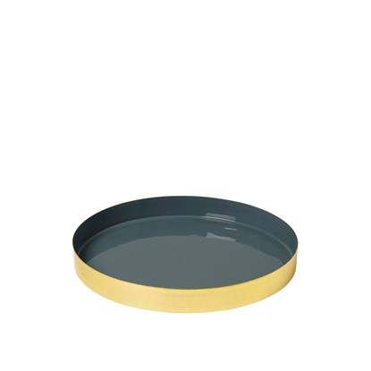 Podnos OKEY 27,5 cm modrý_0