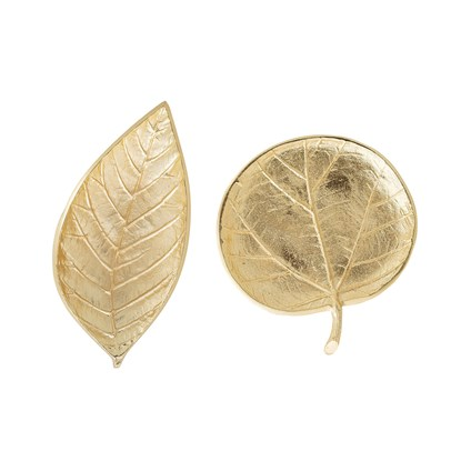 Zlatý podnos list 2 druhy (cena za kus)_0