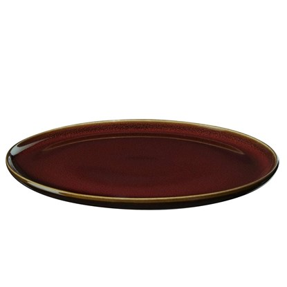 Dezertní talíř KOLIBRI 20 cm červený_3