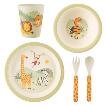Dětský jídelní set Savannah Safari_3