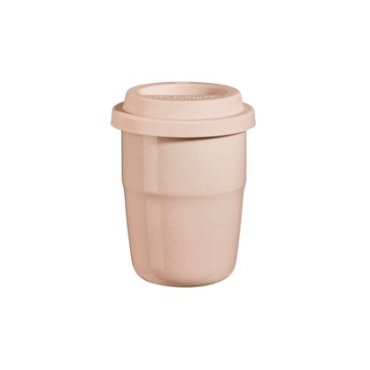 Termohrnek CUP & GO - růžový, 0,2 l_0