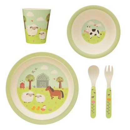 Dětský jídelní set Farmyard Friends_2