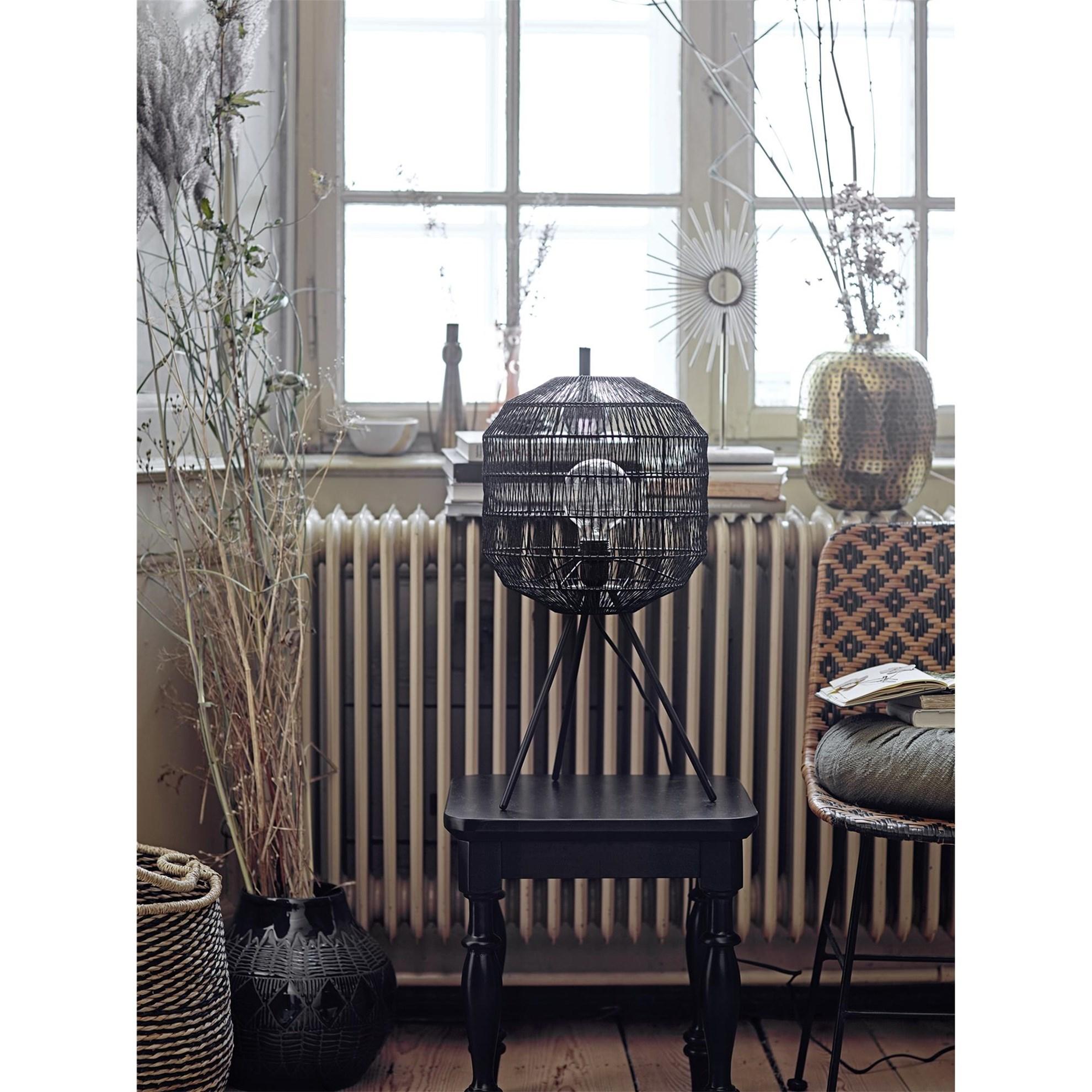 Stolní lampa - kov, 56,5 cm_1
