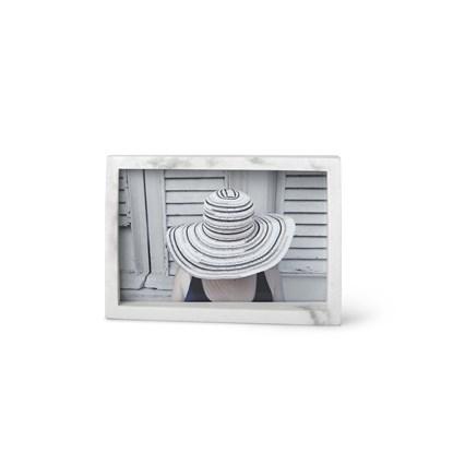 Fotorámeček EDGE MARBLE 10x15 bílý mramor_3